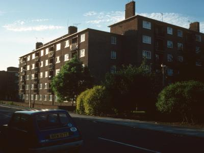 View of 1-67 Remington Road from Pulford Road
