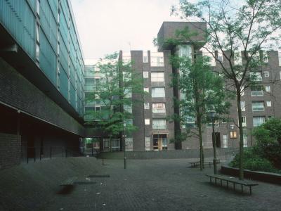 View of blocks on Grahame Park Estate