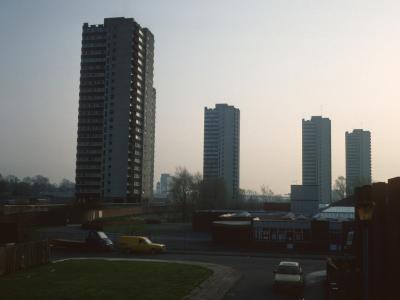 View of 23-storey blocks on Green Dragon Lane