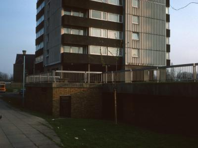 View of 23-storey block on Green Dragon Lane