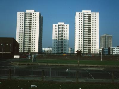 View of 19-storey blocks on Summerwood Road