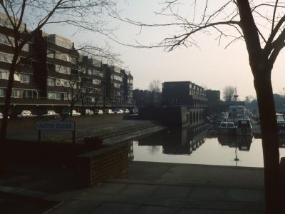 General view of Brentford Dock