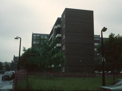 View of Stuart Mill House from Killick Street