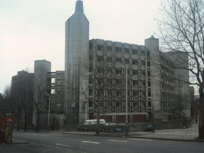 General view of Weston Rise Estate