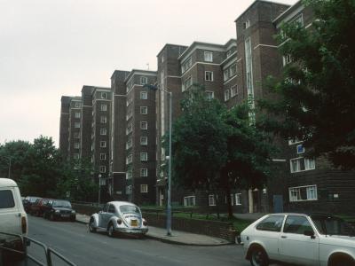 View of Aubert Court