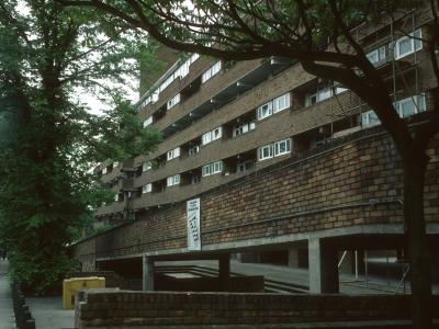 View of block from Hornsey Rise