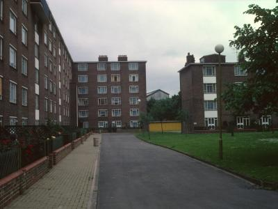 View of Margery Fry Court