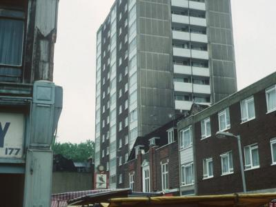 View of Coltash Court from Whitecross Street