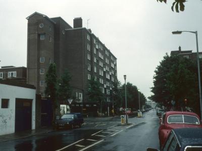 View of Walkinshaw Court from Elizabeth Avenue