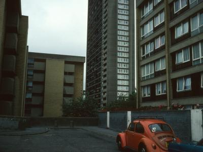 View of Edenham Way with Trellick Tower in background