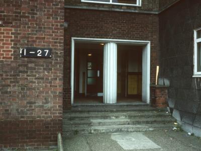 Entrance to 1-27 Tillotson Court
