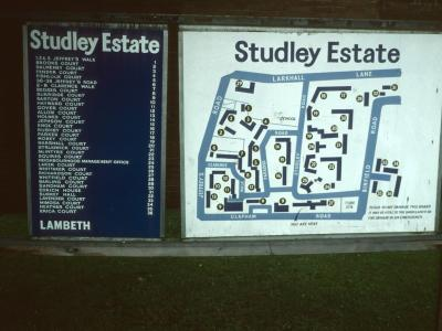 Map of Studley Estate
