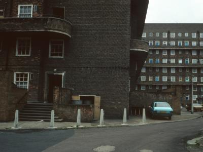 View of connected block comprising of Bourne House, Grover House, Westbrook House, and Hewer House