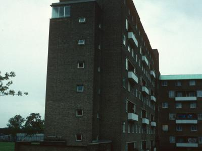 View of Hawthorn Court from West