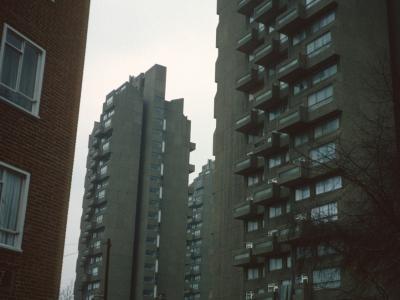 View of all three 22-storey blocks in Grantham Road development
