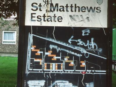 Map of St Matthews Estate
