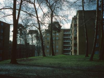 View of 6-storey block