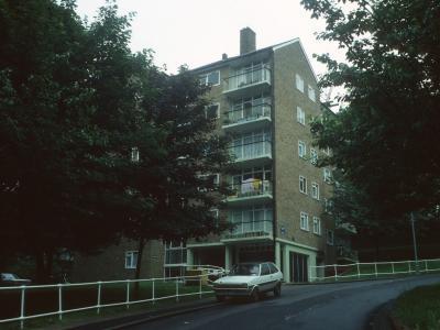 View of 6-storey Eliot Bank block