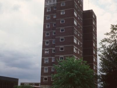 View of Bertha James Court from Masons Hill