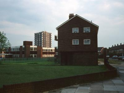 View of 56a-76d Chertsey Crescent