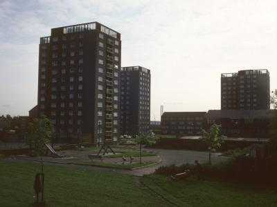 View of all three blocks on Arthus Street and Boundary Street