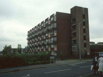 View of Addey House from Idonia Street