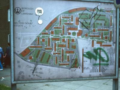 Map of Milton Court Estate