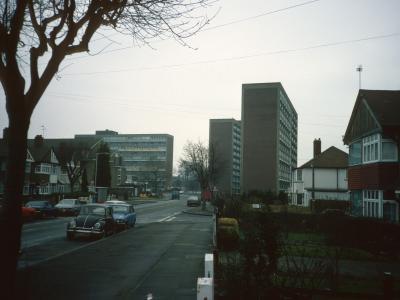 General view of Phipps Bridge Estate