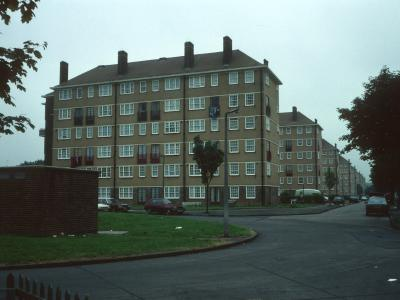View of Pollards Hill Blocks