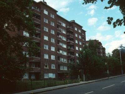 View of Cumberland House blocks