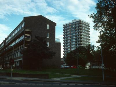 View of block in Cambridge Road redevelopment