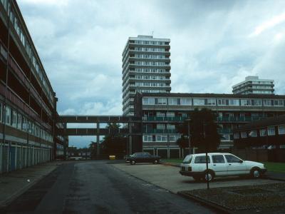 View of blocks in Cambridge Road redevelopment