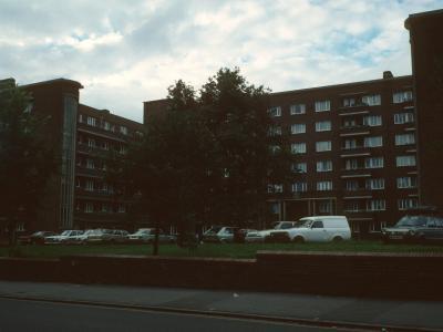View of 1-144 Cambridge Gardens from Cambridge Road