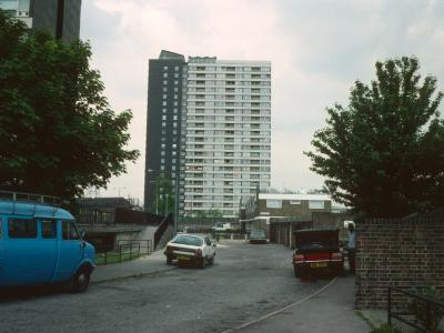 View of 22-storey block a Carpenters Road