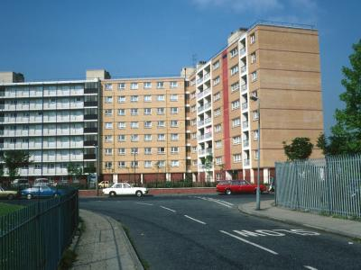 View of Priory Court from Priory Road