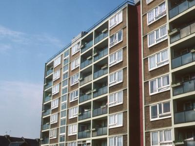 View of 8-storey block on Melford Road