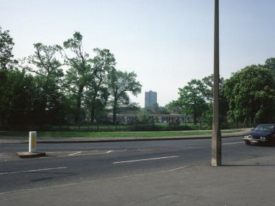 View of Highfield Towers