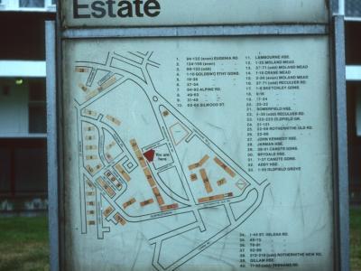 Map of Silwood Estate
