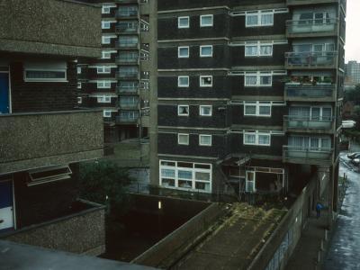 View of 20-storey blocks