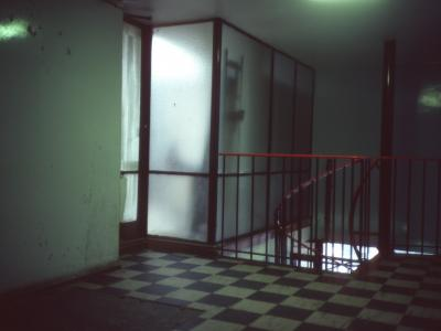 Hallway in Napier House
