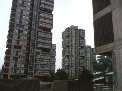 View of 22-storey blocks in Wyndham Estate