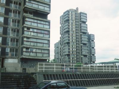 View of 22-storey blocks