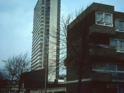 View of Maydew House from Abbeyfield Road