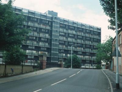 View of Tonbridge House