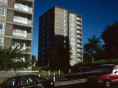 View of Rye Hill Park blocks