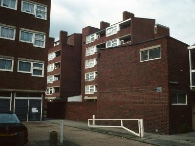 View of 6-storey blocks in Dodson Street