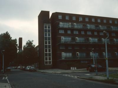 View of 6-storey block in development