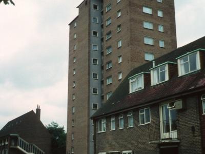 View of Albert Westcott House