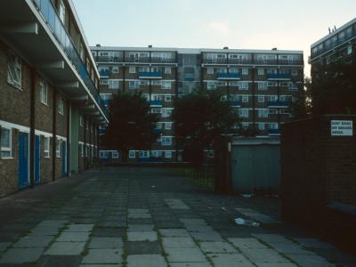 View of 8-storey blocks in St Saviour's Estate