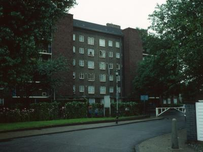 View of Ritchie House from Moodkee Street
